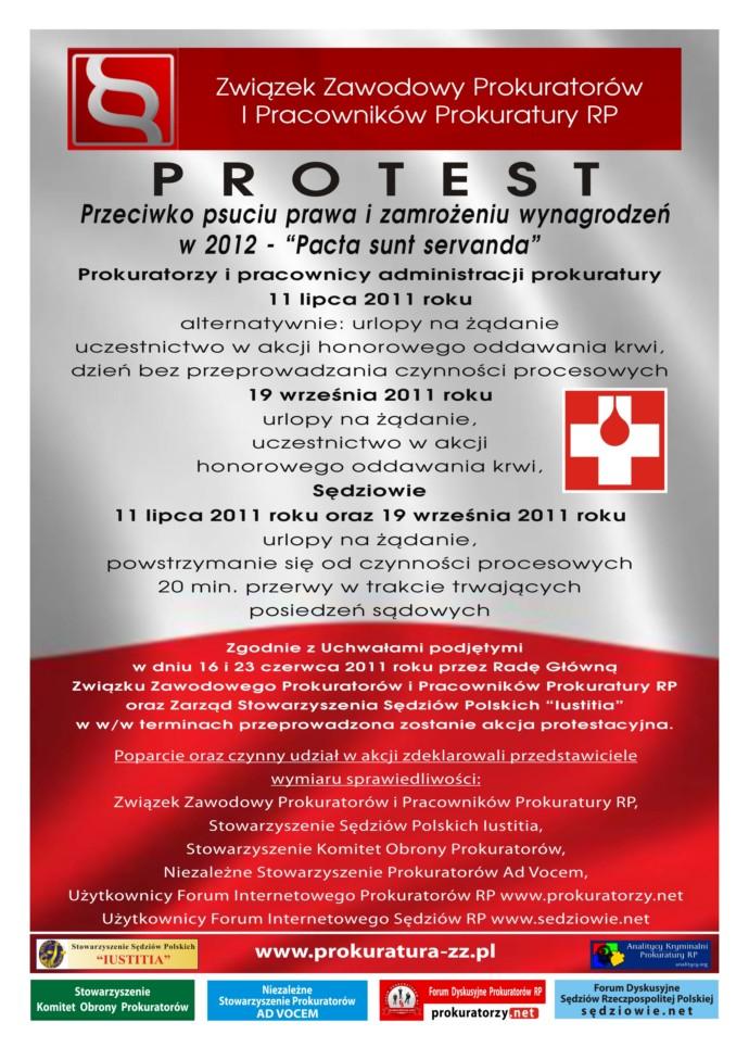 Protest - Plakat